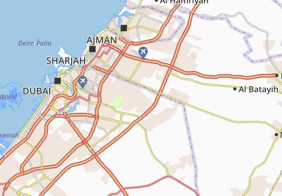 Carte-Plan Al Khawaneej Second