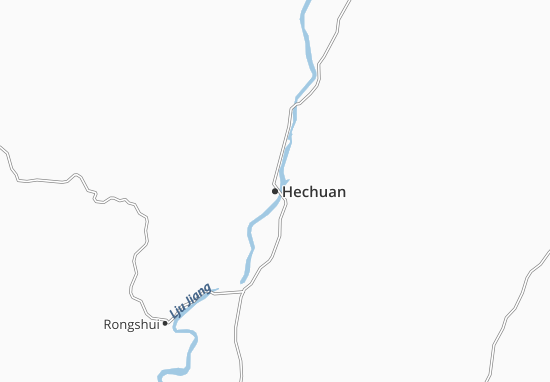 Hechuan Map