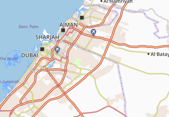 Carte-Plan Al Khawaneej First