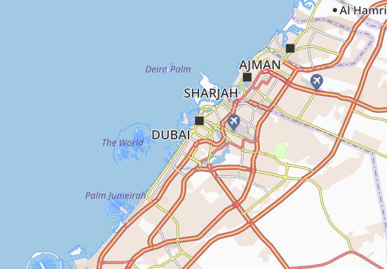 Carte-Plan Al Hudaiba