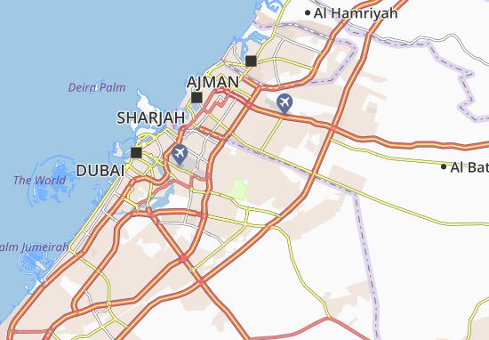 Carte-Plan Al Mizhar Second