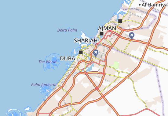 Carte-Plan Al Karama