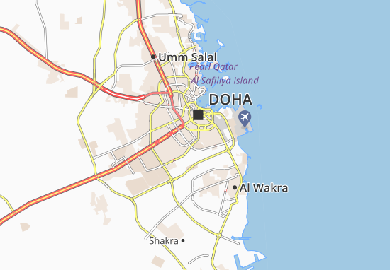 Fereej Al Ali Map