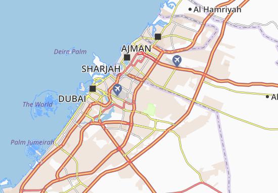 Carte-Plan Al Muhaisnah First