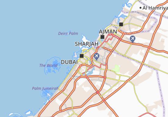 Carte-Plan Al Hamriya