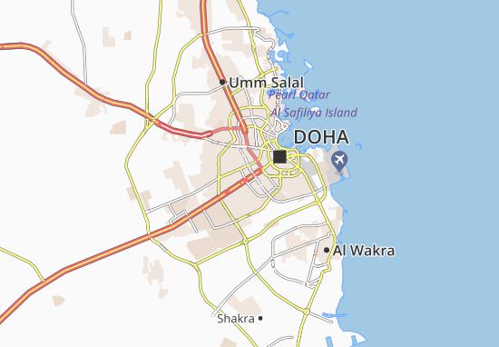 Mapas-Planos Doha Garden