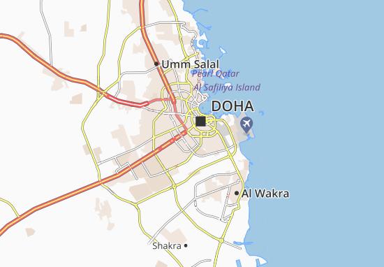 Carte-Plan Al Jaidah Housing Compound