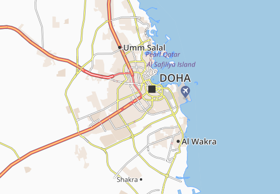 Kaart Plattegrond Jassim Bin Khalid Villa Compound
