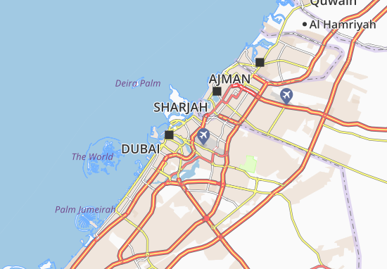 Carte-Plan Al Khabeesi