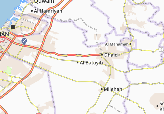 Mapa Plano Al Batayih