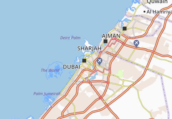 Carte-Plan Al Daghaya