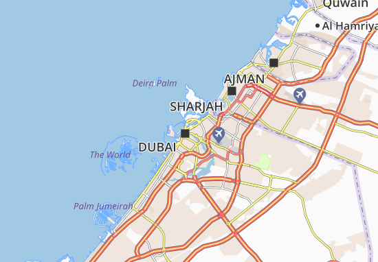 Mapa Plano Al Daghaya