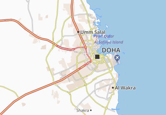 Kaart Plattegrond Fereej Al Ameer