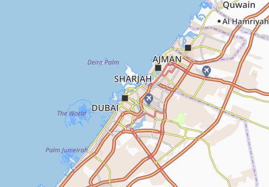 Al Baraha Map