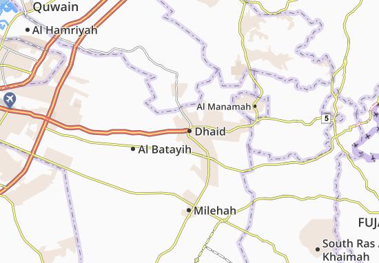 Mapa Plano Dhaid