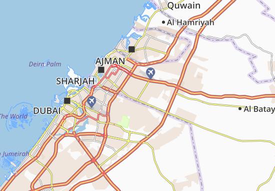 Carte-Plan Al Juraina
