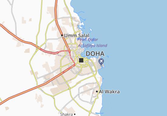 Carte-Plan Al Jasra