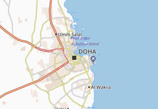 Mappe-Piantine Doha Port