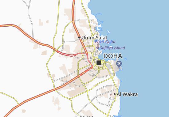 Kaart Plattegrond Qatar Gardens