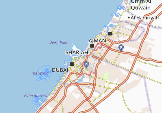 Al Hamriya Port Map