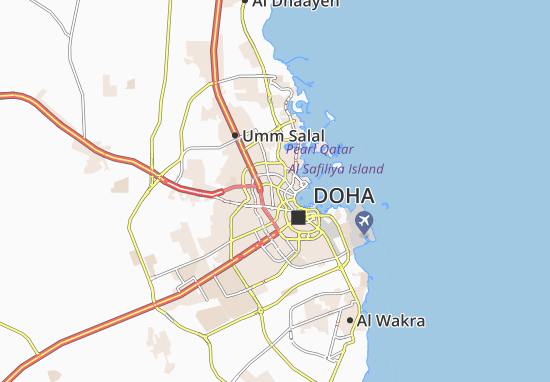 Fereej Khlaib Map