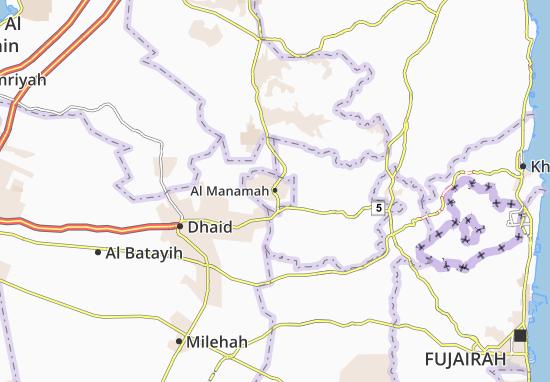 Carte-Plan Al Manamah