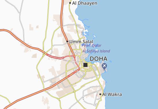 Carte-Plan Al Markhiya