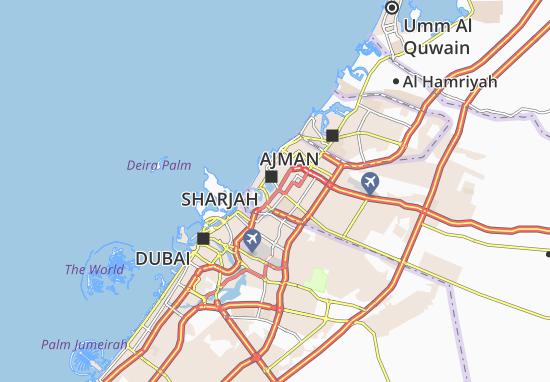 Carte-Plan Al Majaz Park