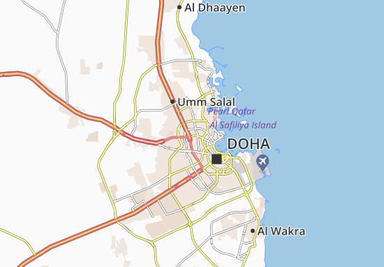 Madinat Khalifa North Map