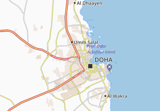 Mappe-Piantine Madinat Khalifa North