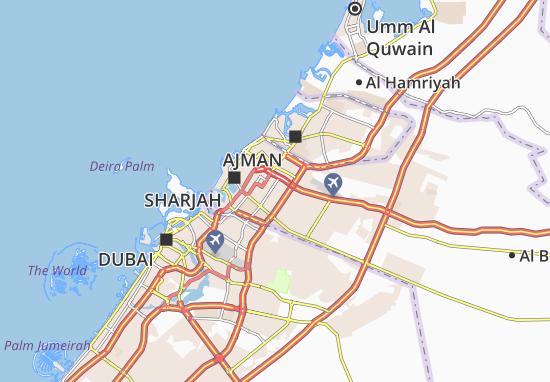 Carte-Plan Al Darari