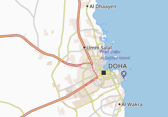 Carte-Plan Al Gharrafa