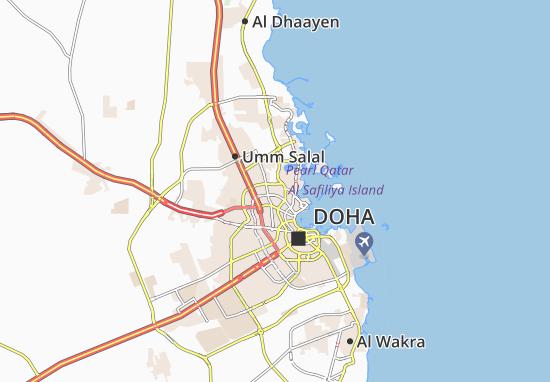 Kaart Plattegrond Hazm Al Markhiya