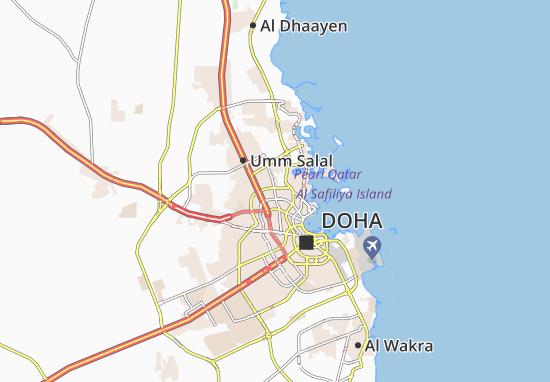 Carte-Plan Al Markhiya Complex