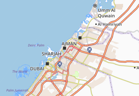 Al Ghubaiba Map