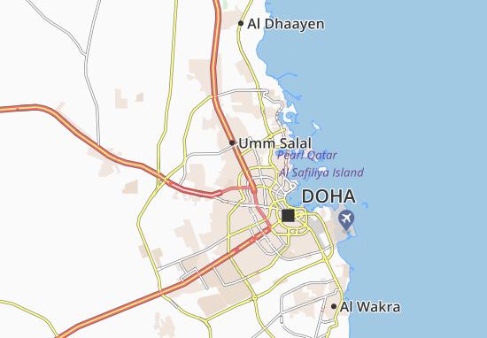 Carte-Plan Al Zubara Complex