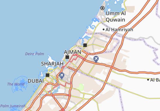 Mapa Plano Al Goaz