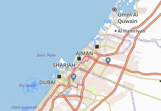 Mapa Plano Al Ghuwair