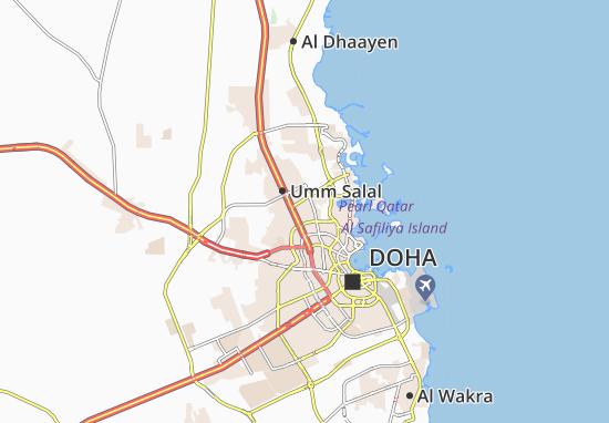 Carte-Plan Al Duhail