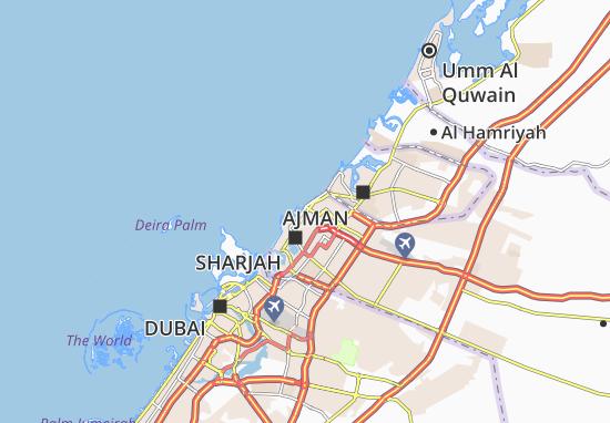 Mapa Plano Al Gulayaa