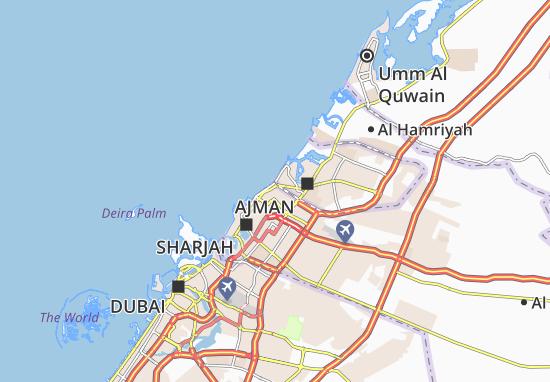 Carte-Plan Al Mirgab