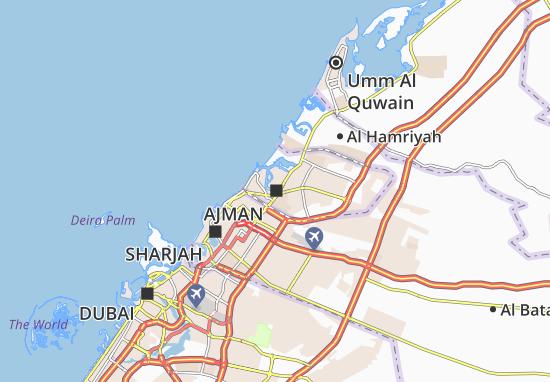 Mapas-Planos Ajman