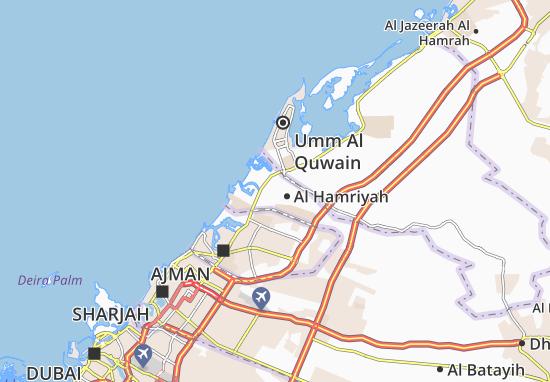 Mapa Plano Al Hamriyah
