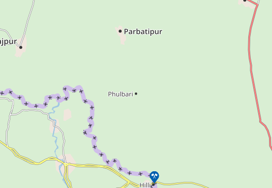 Carte-Plan Phulbari