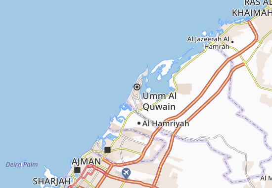 Carte-Plan Al Humrah Area-D