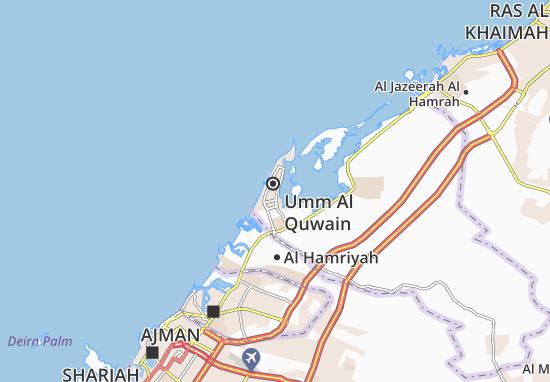 Carte-Plan Al Humrah Area-C