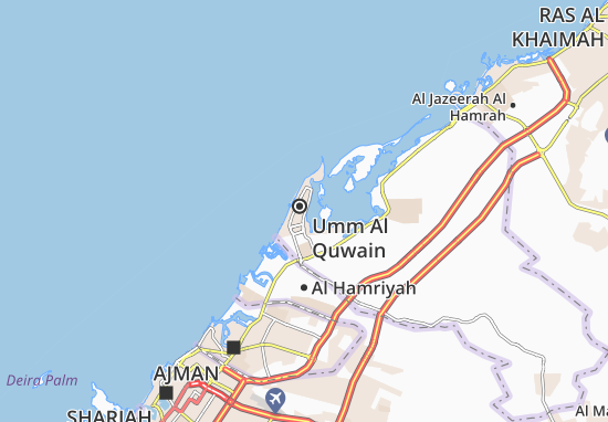 Al Dar Al Baida Area-B Map