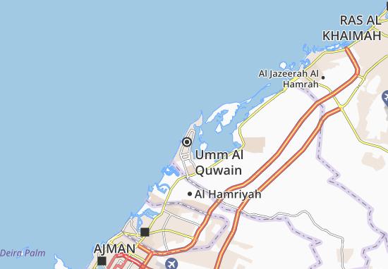 Carte-Plan Al Khor Area