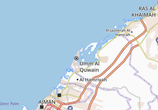 Mapa Plano Al Dar Al Baida Area-A