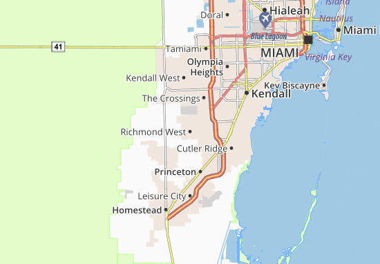 Mappe-Piantine Richmond West